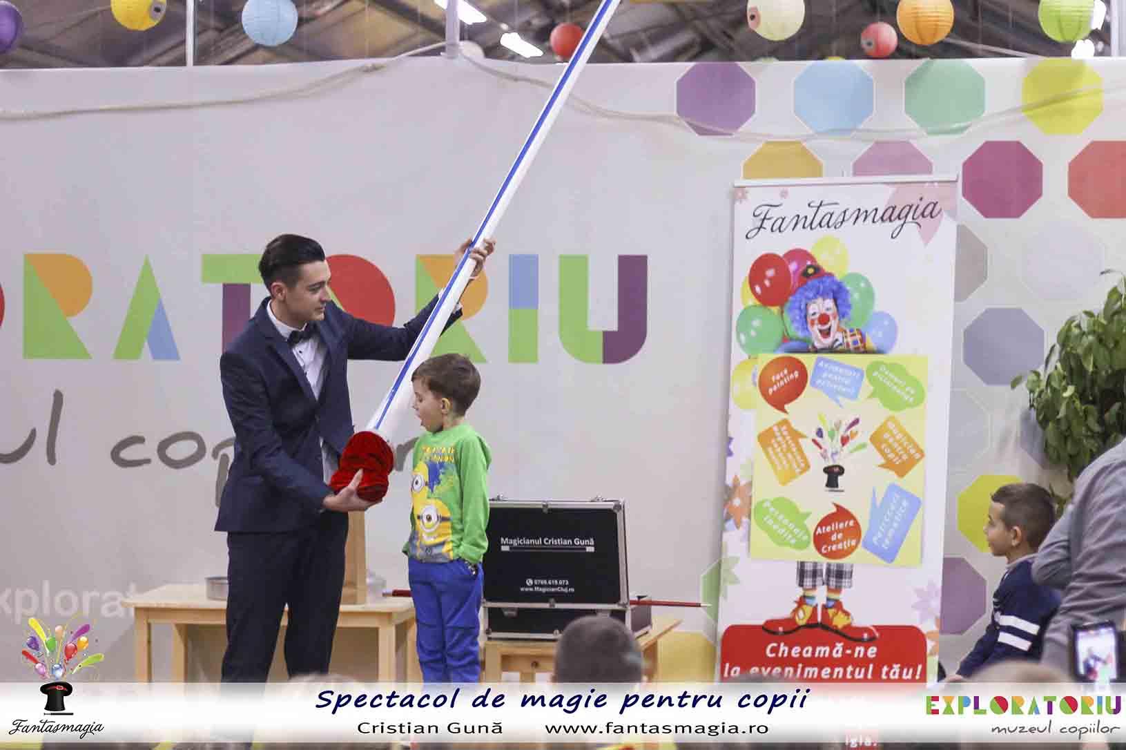 magicianul cristian guna